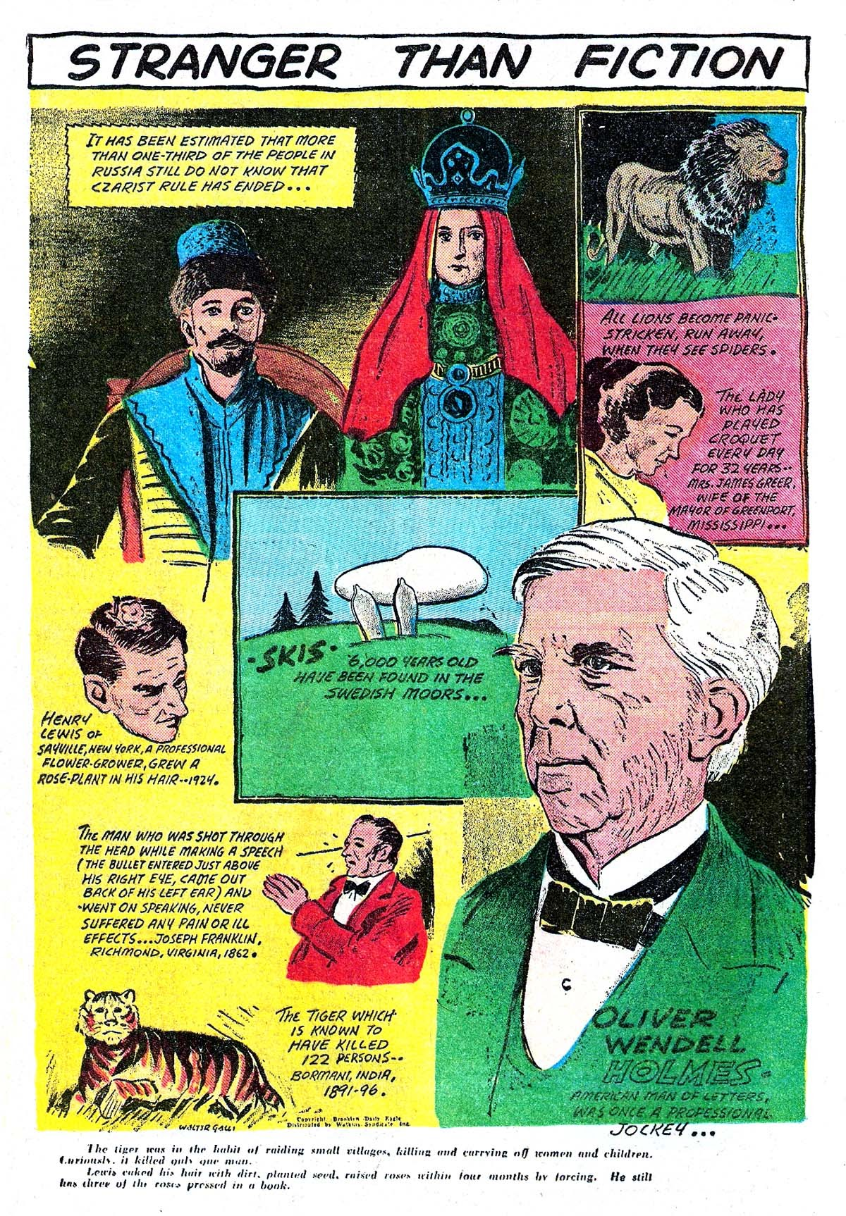 Read online Amazing Man Comics comic -  Issue #5 - 28