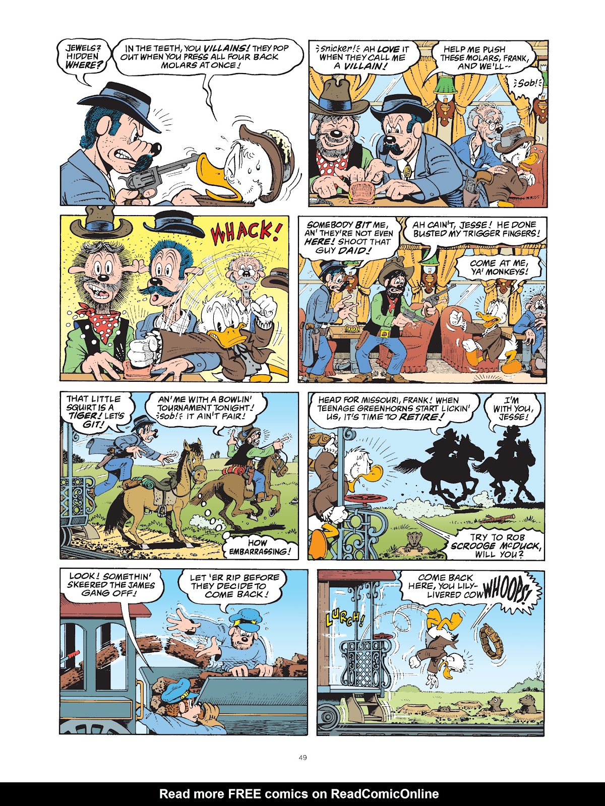Read online The Complete Life and Times of Scrooge McDuck comic -  Issue # TPB 1 (Part 1) - 54