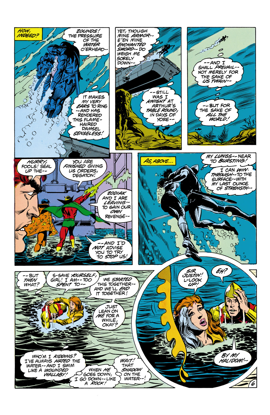 Read online All-Star Squadron comic -  Issue #3 - 7