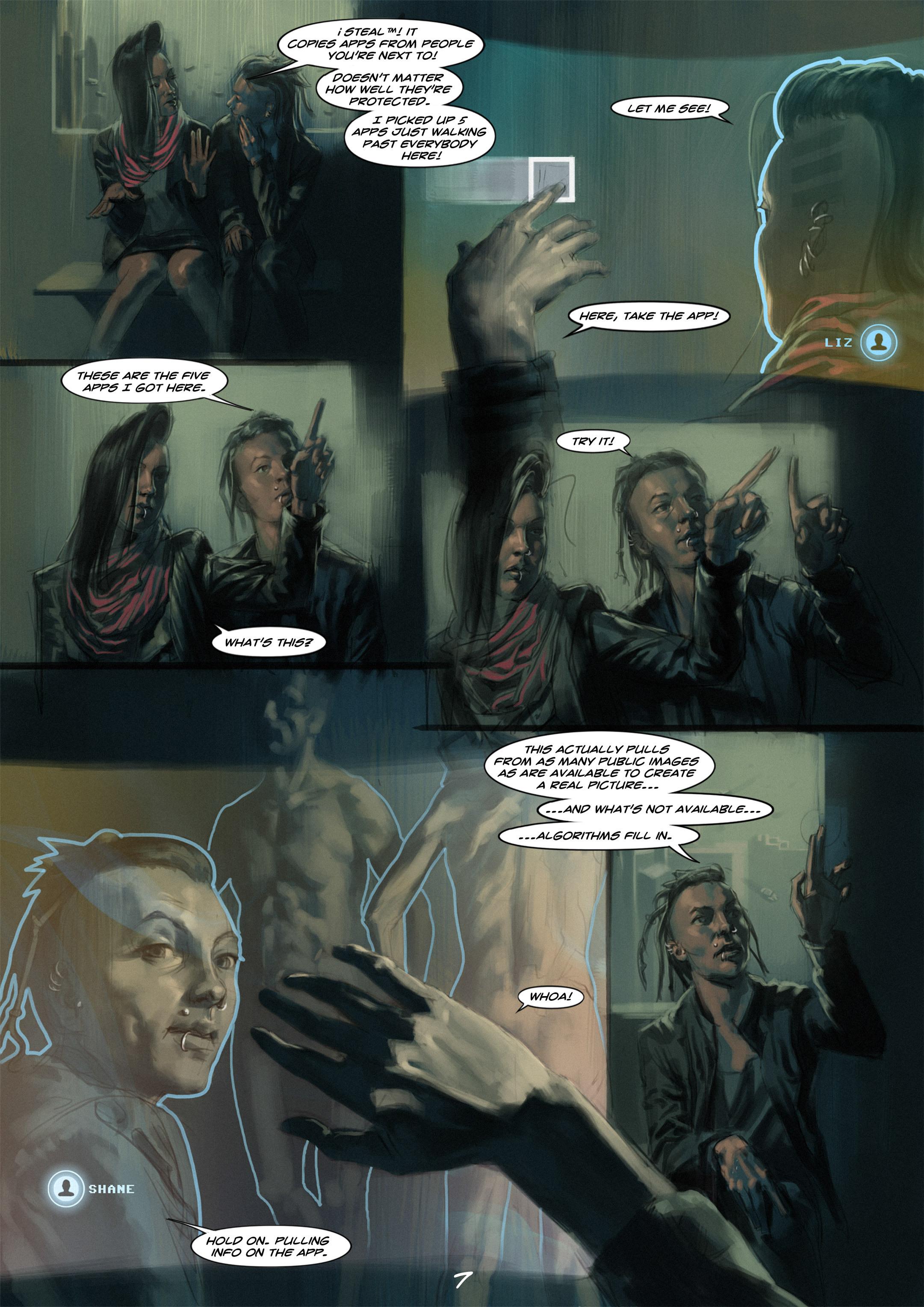 Read online Wynter comic -  Issue #1 - 8