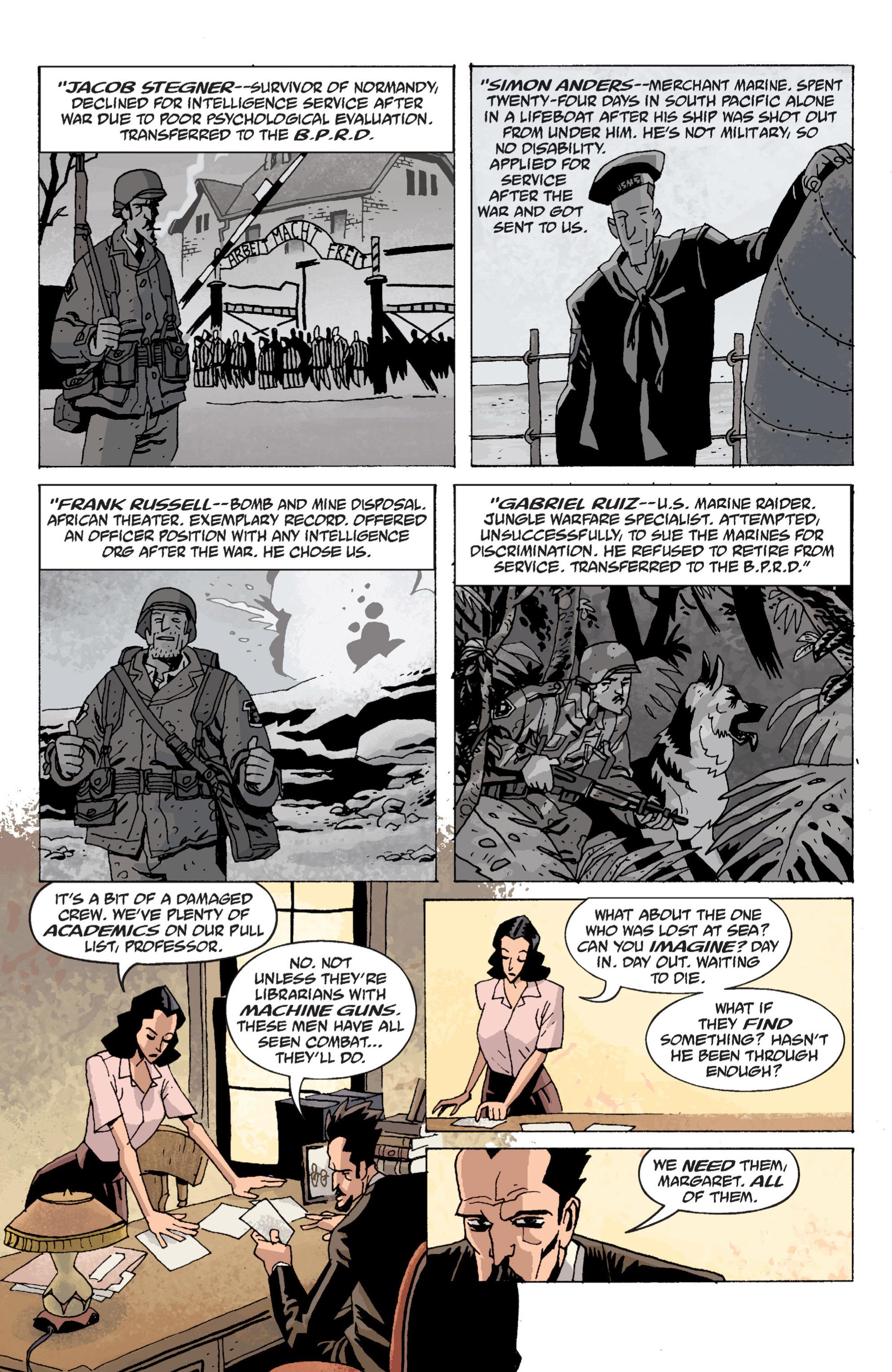 Read online B.P.R.D. (2003) comic -  Issue # TPB 13 - 17