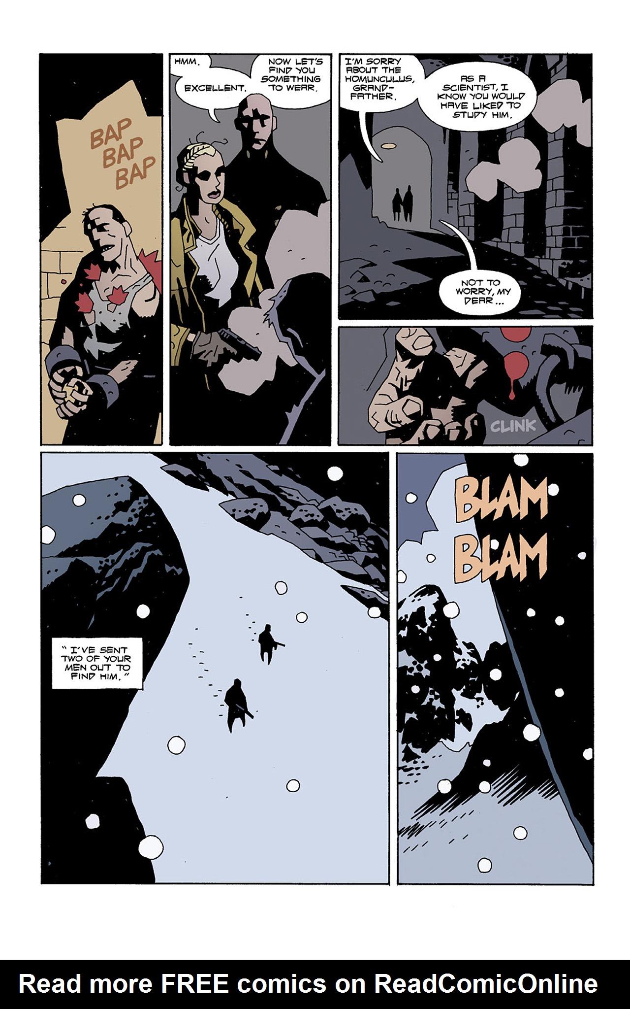 Read online Hellboy: Conqueror Worm comic -  Issue #2 - 8