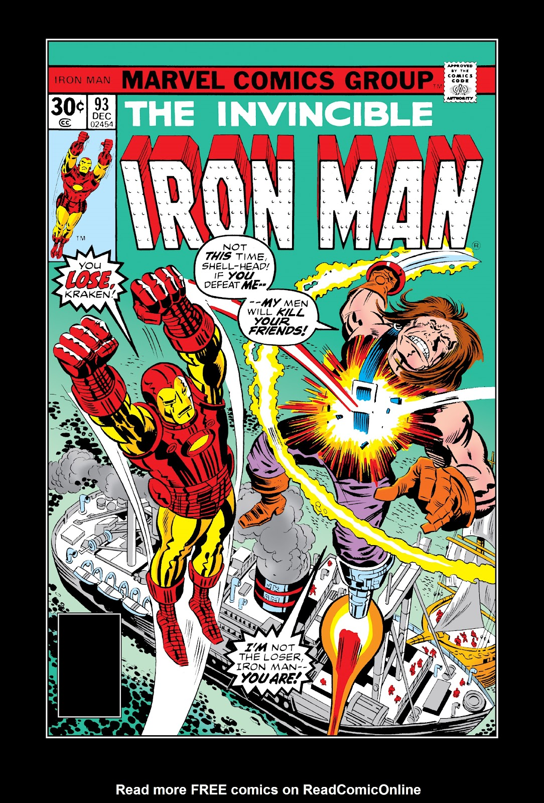 Read online Marvel Masterworks: The Invincible Iron Man comic -  Issue # TPB 11 (Part 3) - 47
