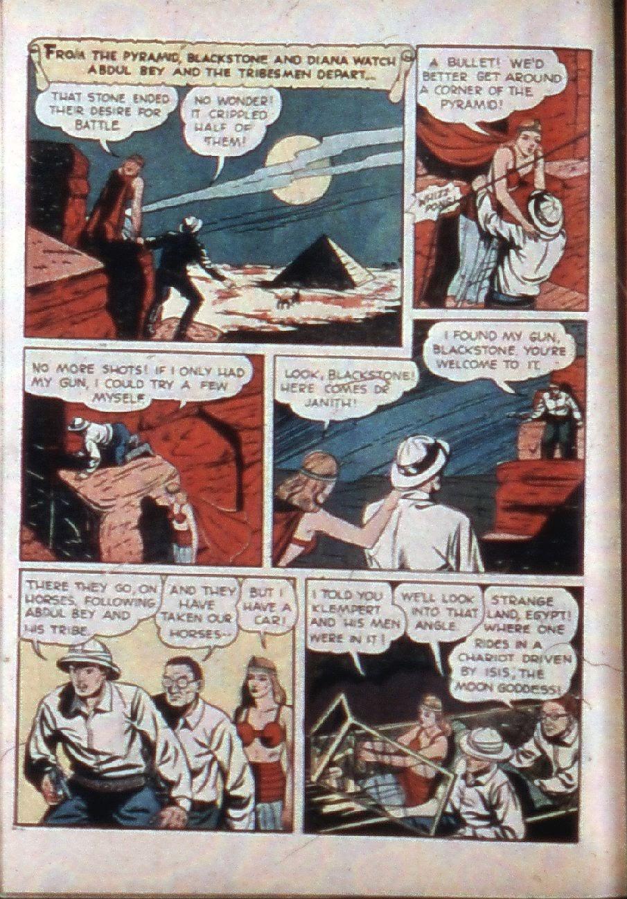 Read online Super-Magician Comics comic -  Issue #3 - 10