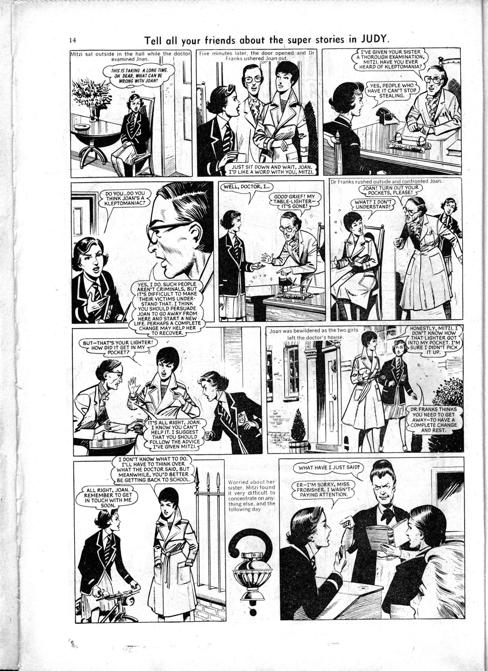 Read online Judy comic -  Issue #154 - 14