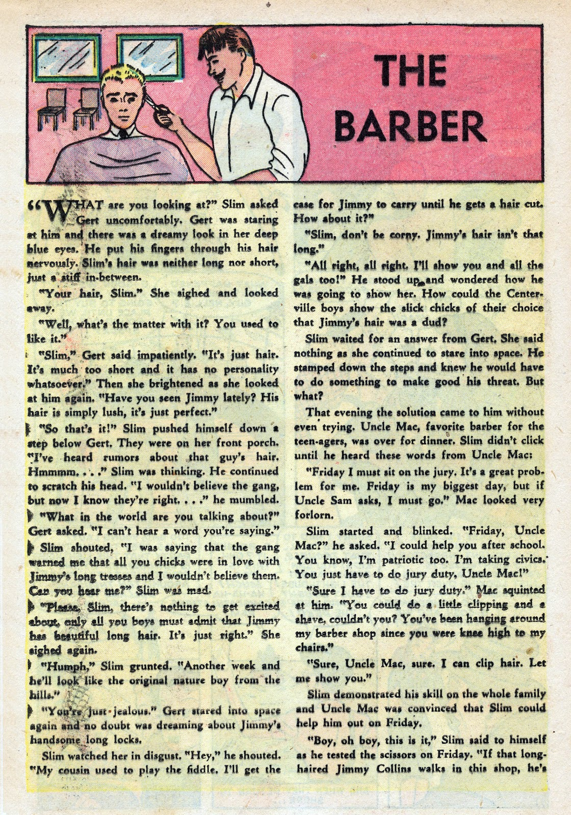 Read online Nellie The Nurse (1945) comic -  Issue #17 - 18