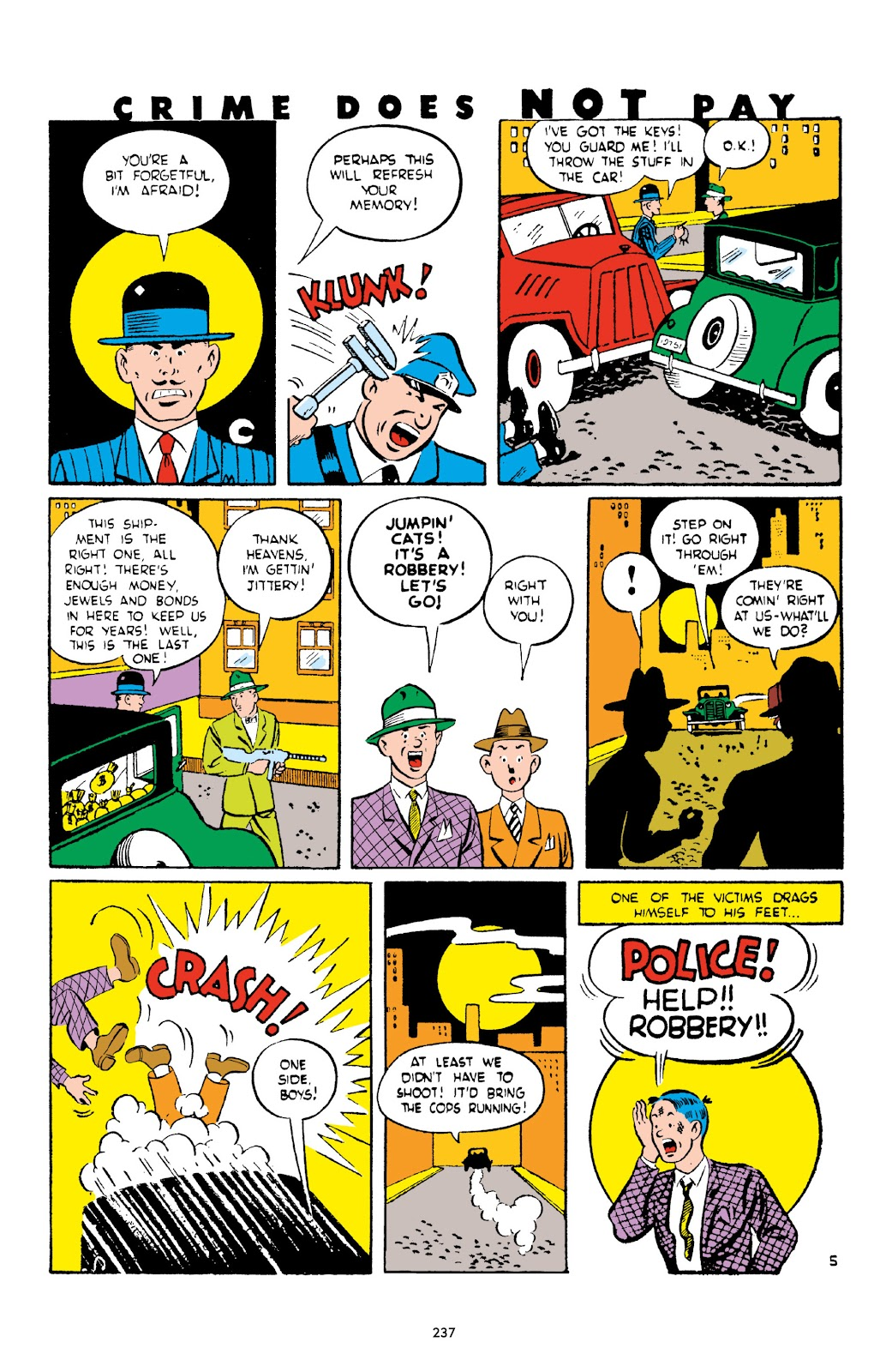 Read online Crime Does Not Pay Archives comic -  Issue # TPB 2 (Part 3) - 37