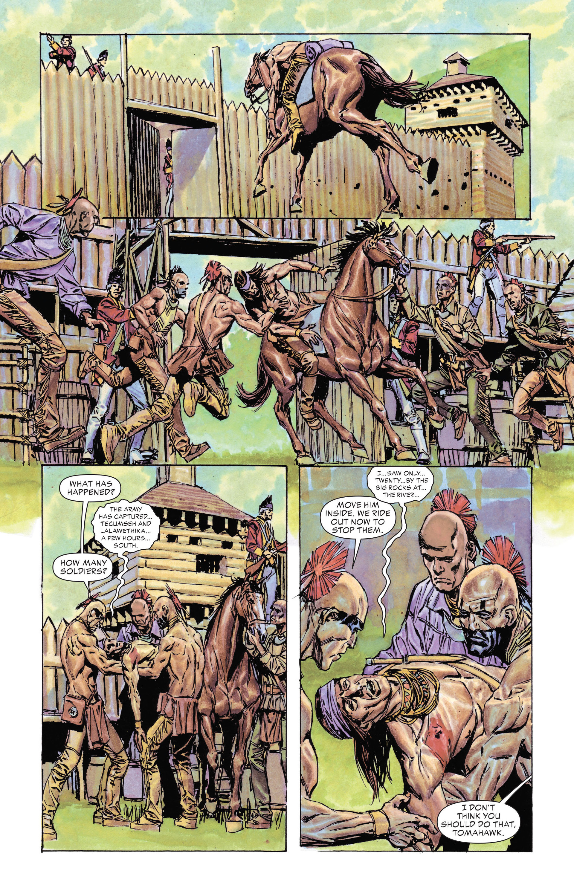 Read online All-Star Western (2011) comic -  Issue #14 - 28