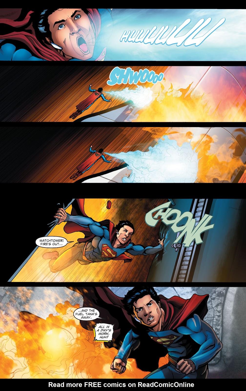 Read online Smallville Season 11 [II] comic -  Issue # TPB 1 - 62