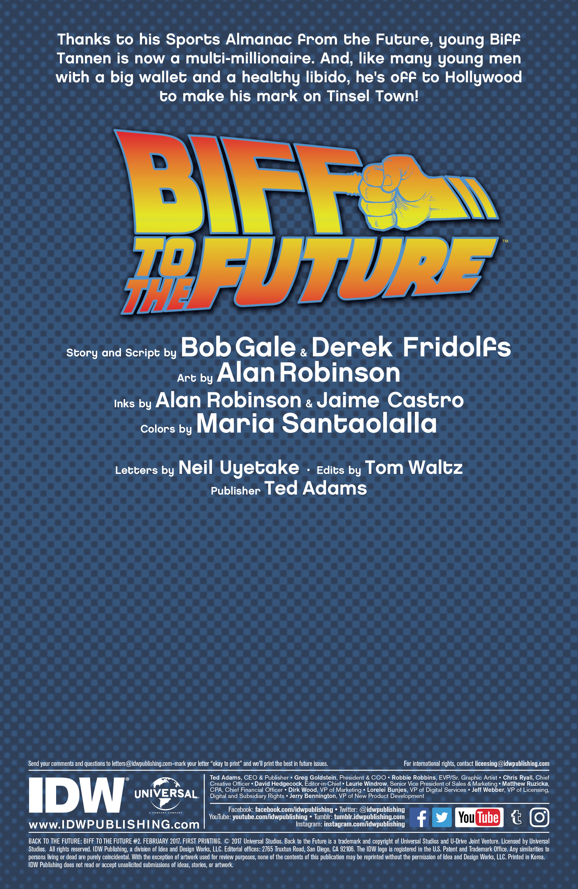 Read online Back to the Future: Biff to the Future comic -  Issue #2 - 2