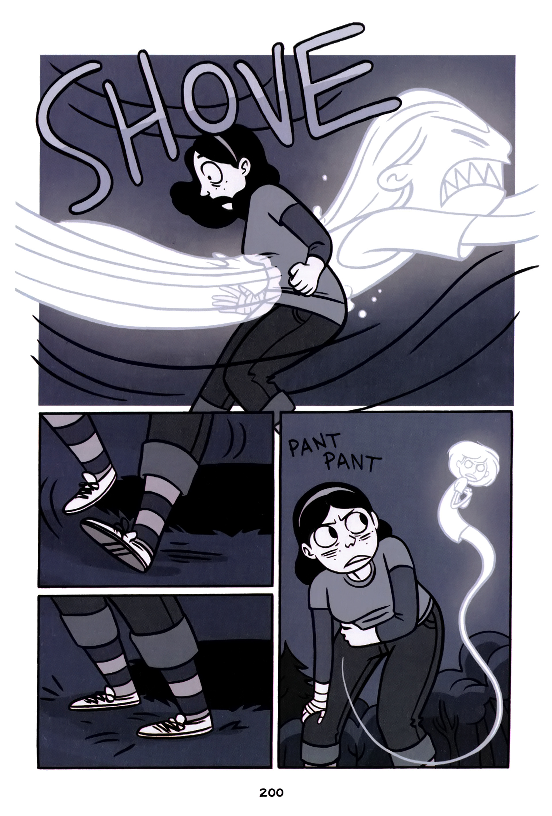 Read online Anya's Ghost comic -  Issue #1 - 201