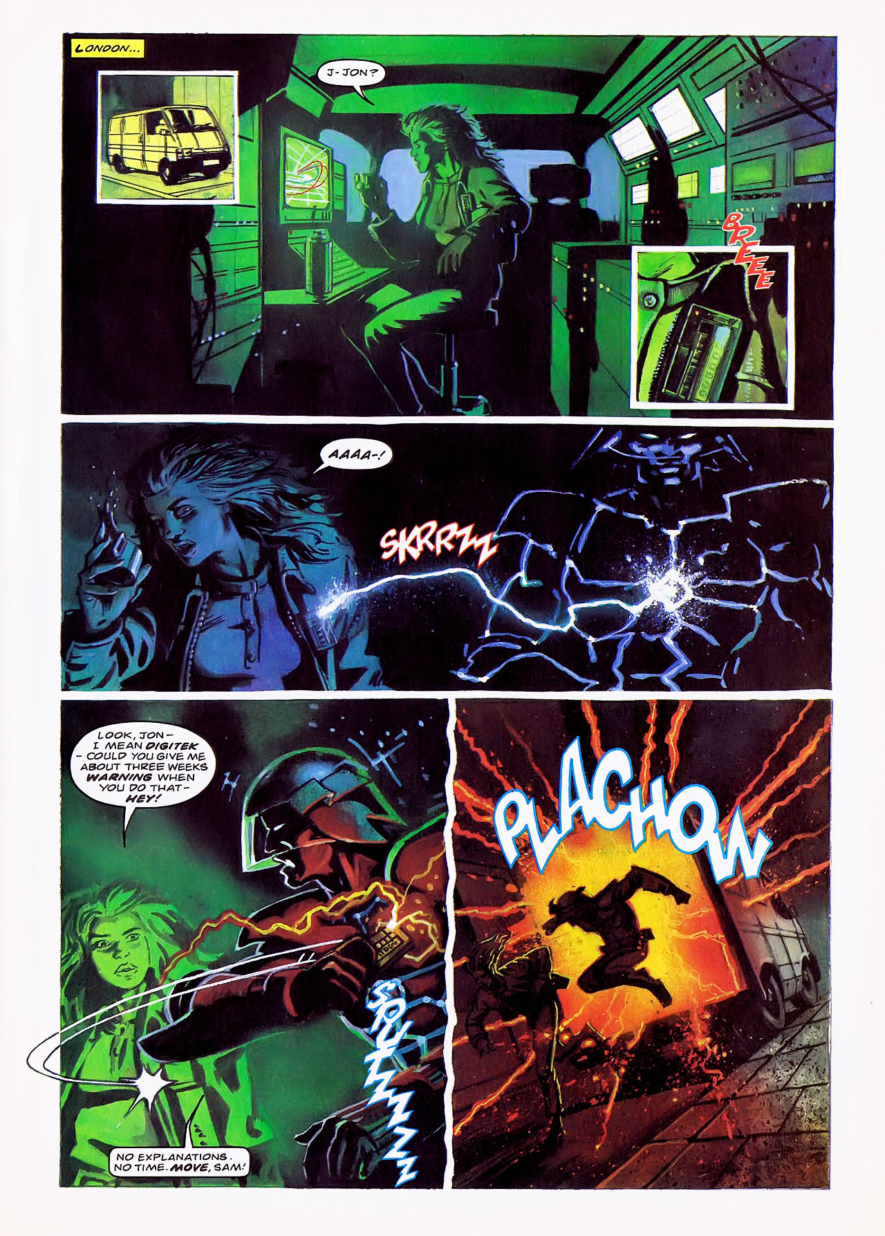 Read online Overkill comic -  Issue #7 - 25