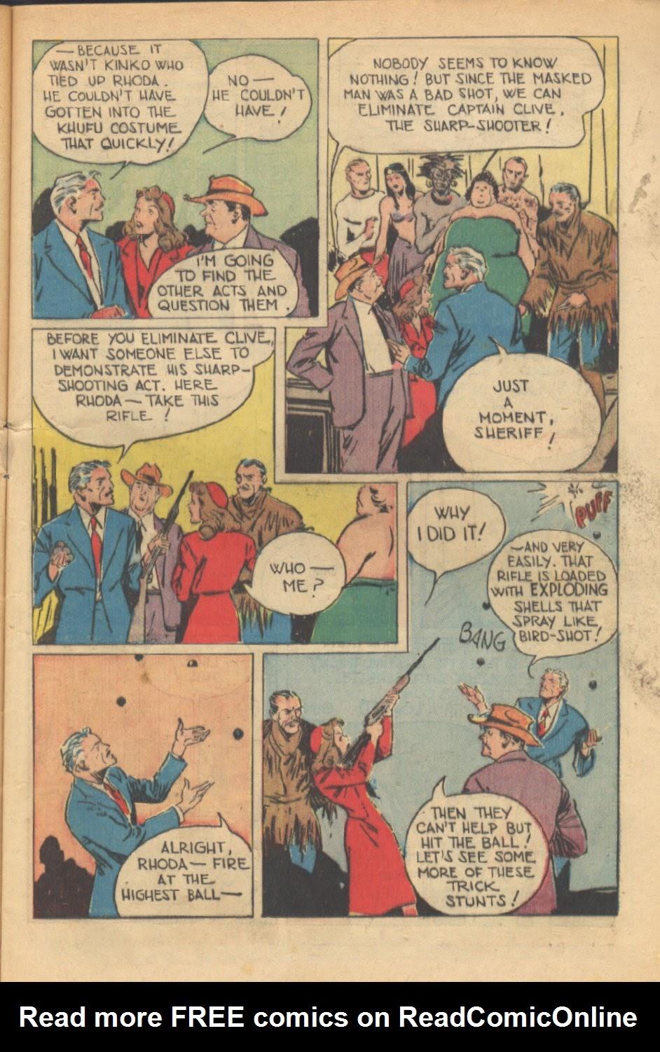Read online Super-Magician Comics comic -  Issue #37 - 12
