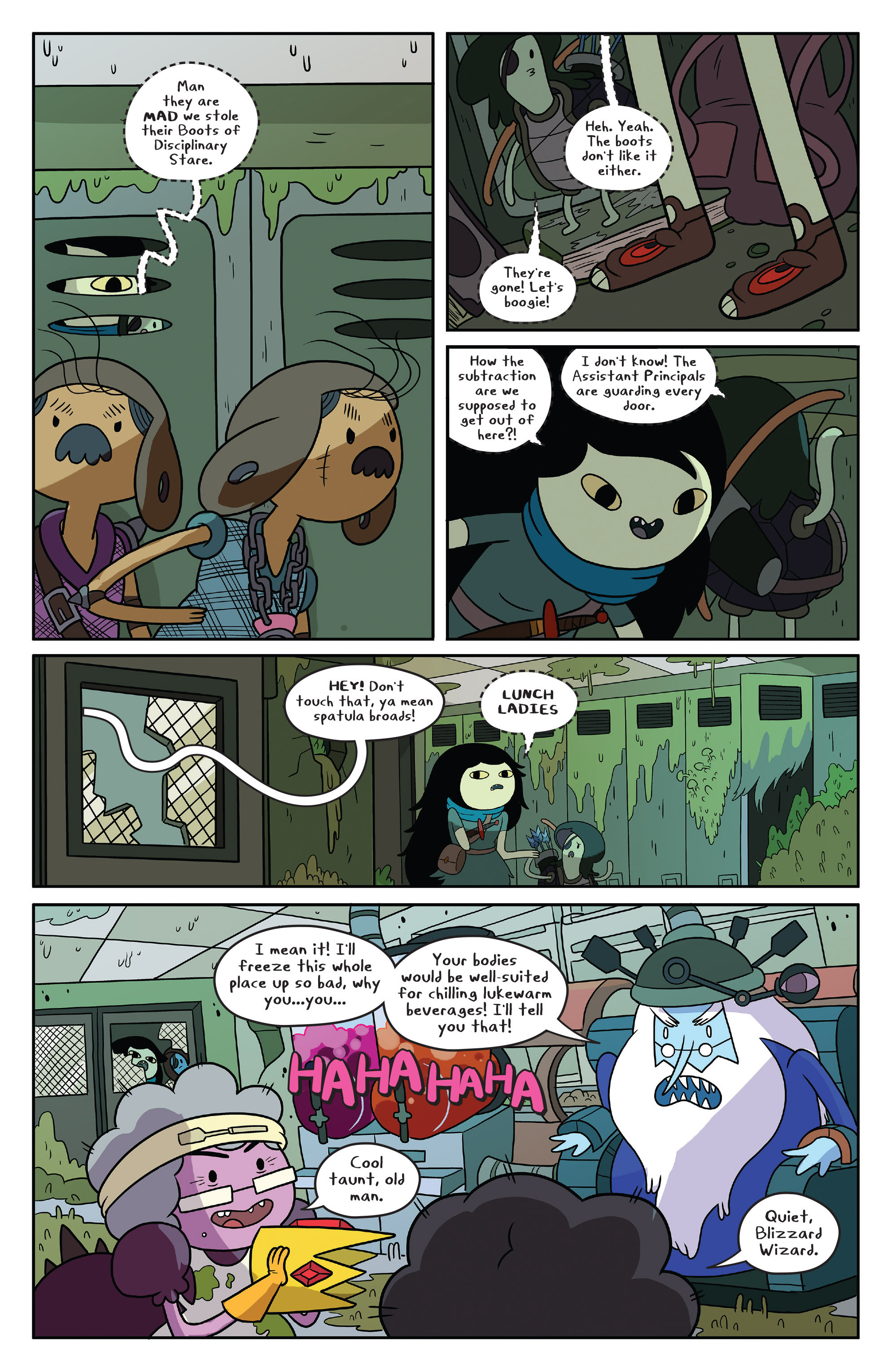 Read online Adventure Time comic -  Issue #50 - 15