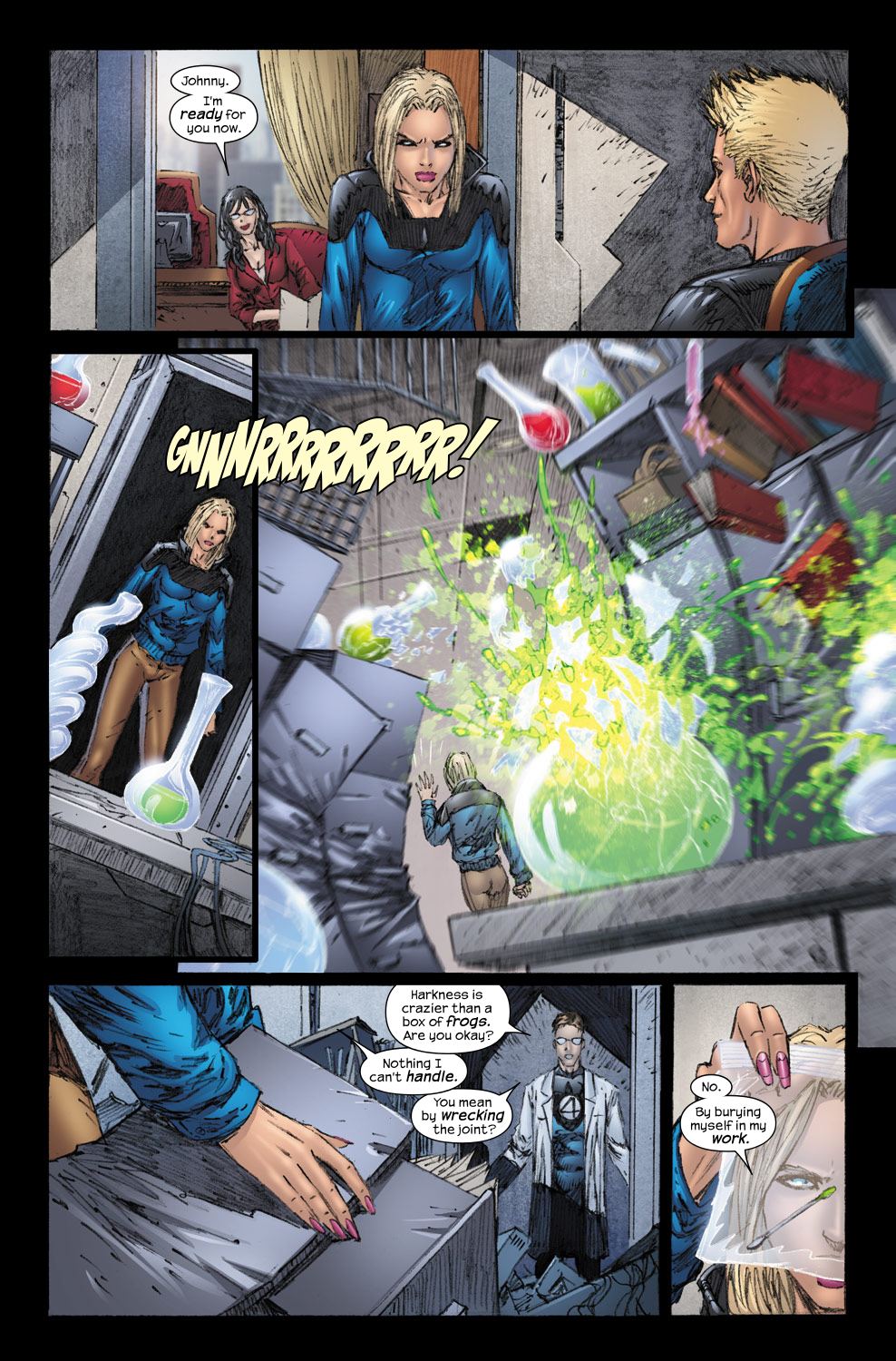 Read online Ultimate Fantastic Four (2004) comic -  Issue #54 - 18