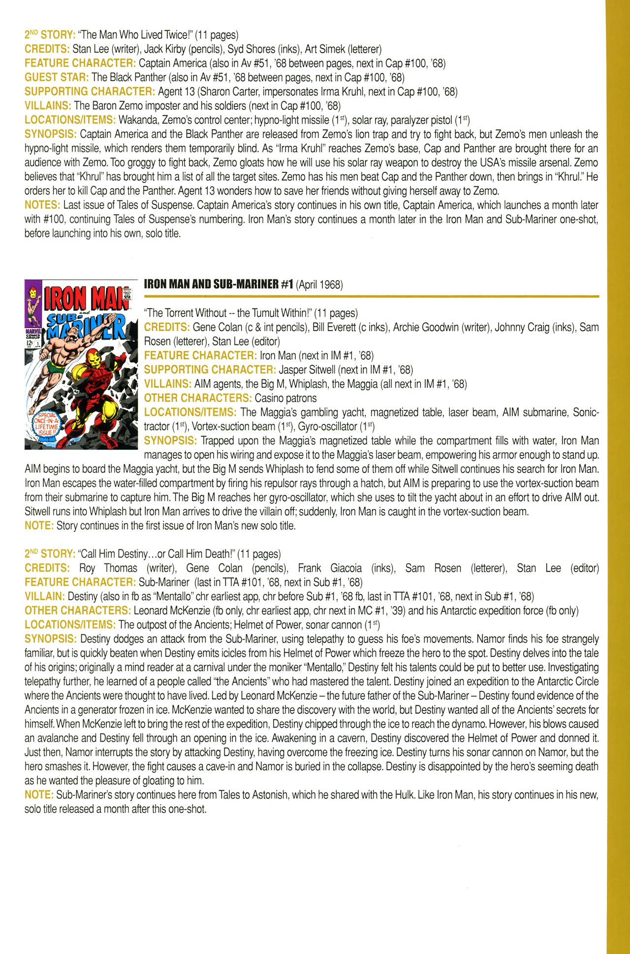 Read online Official Index to the Marvel Universe comic -  Issue #2 - 39