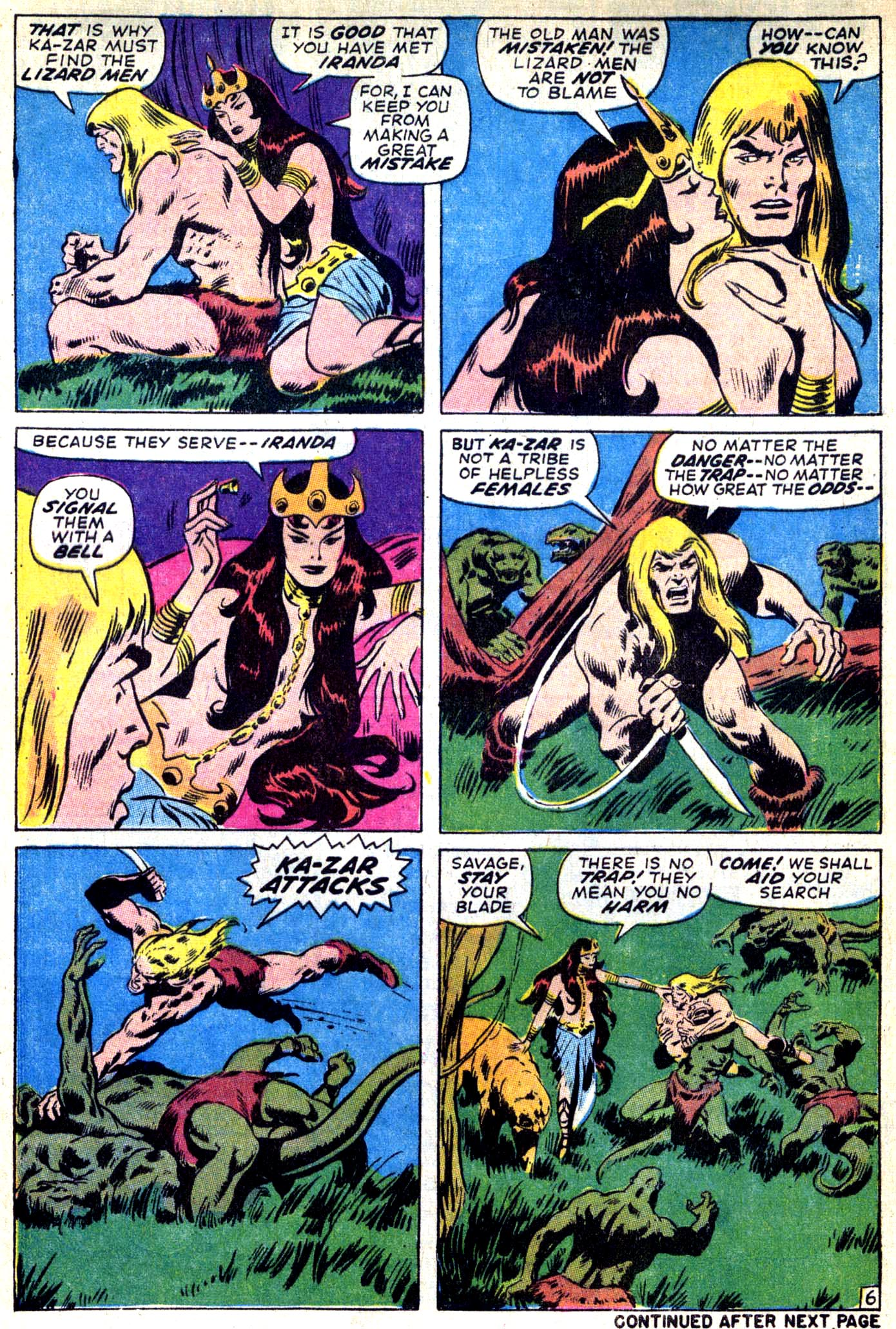 Read online Astonishing Tales (1970) comic -  Issue #9 - 6