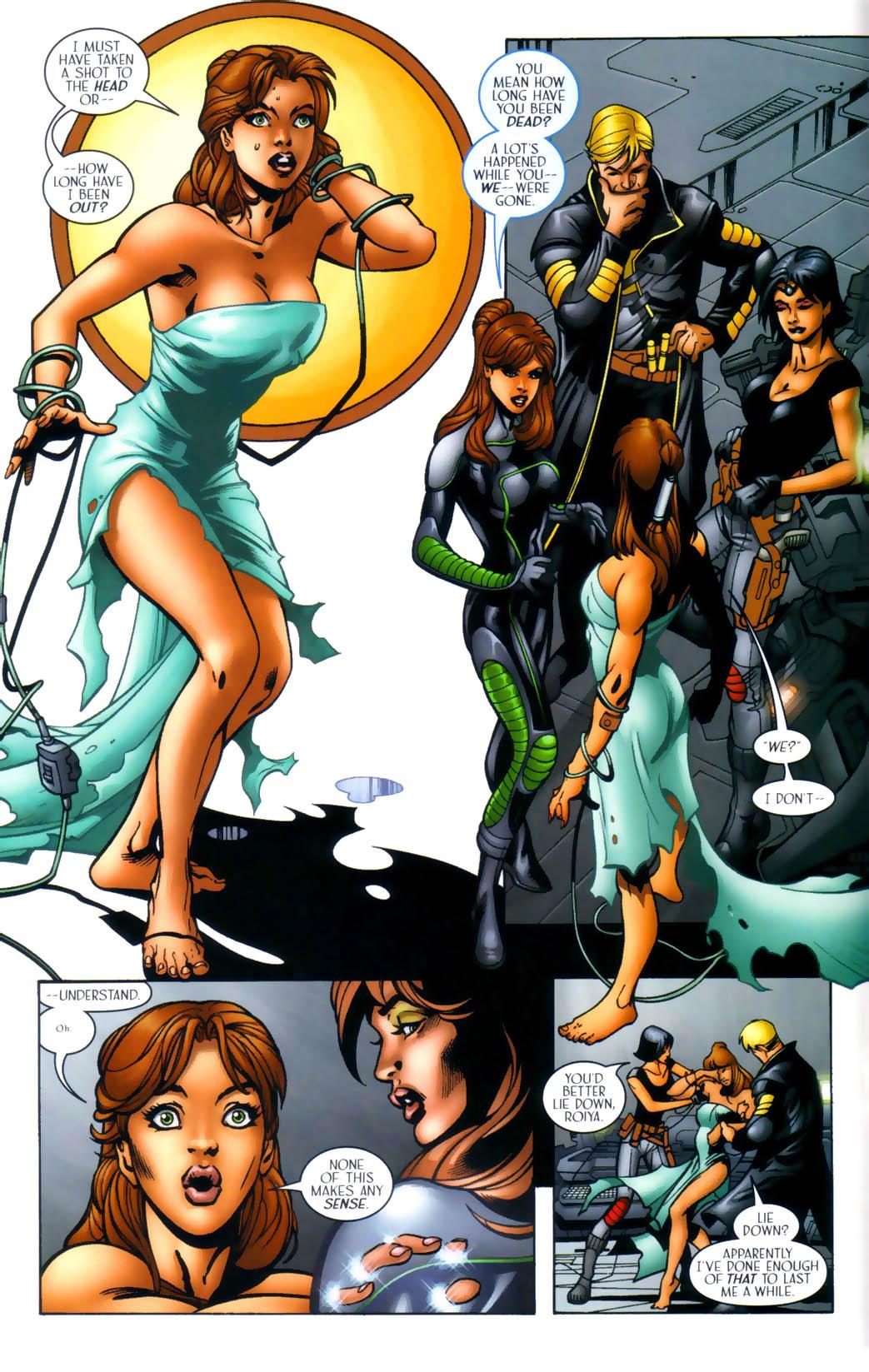 Read online Sigil (2000) comic -  Issue #30 - 7