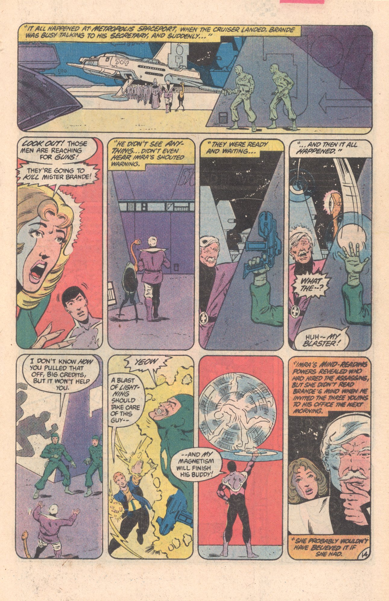 Legion of Super-Heroes (1980) 297 Page 14