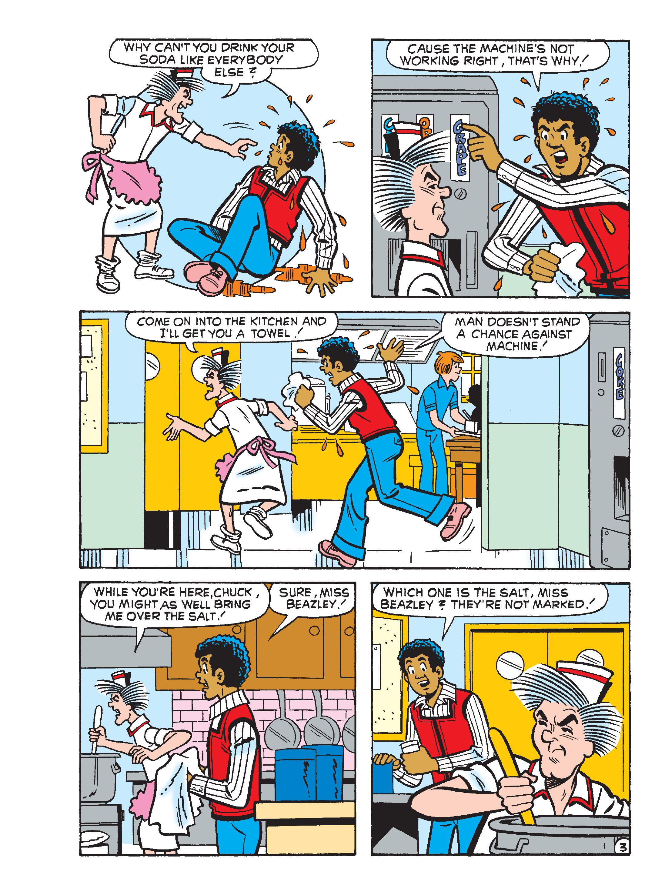 Read online Archie's Funhouse Double Digest comic -  Issue #23 - 85