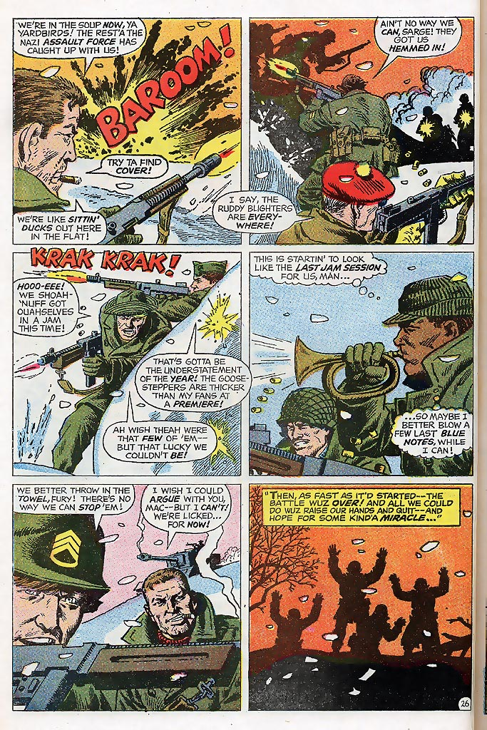 Read online Sgt. Fury comic -  Issue # _Special 4 - 32