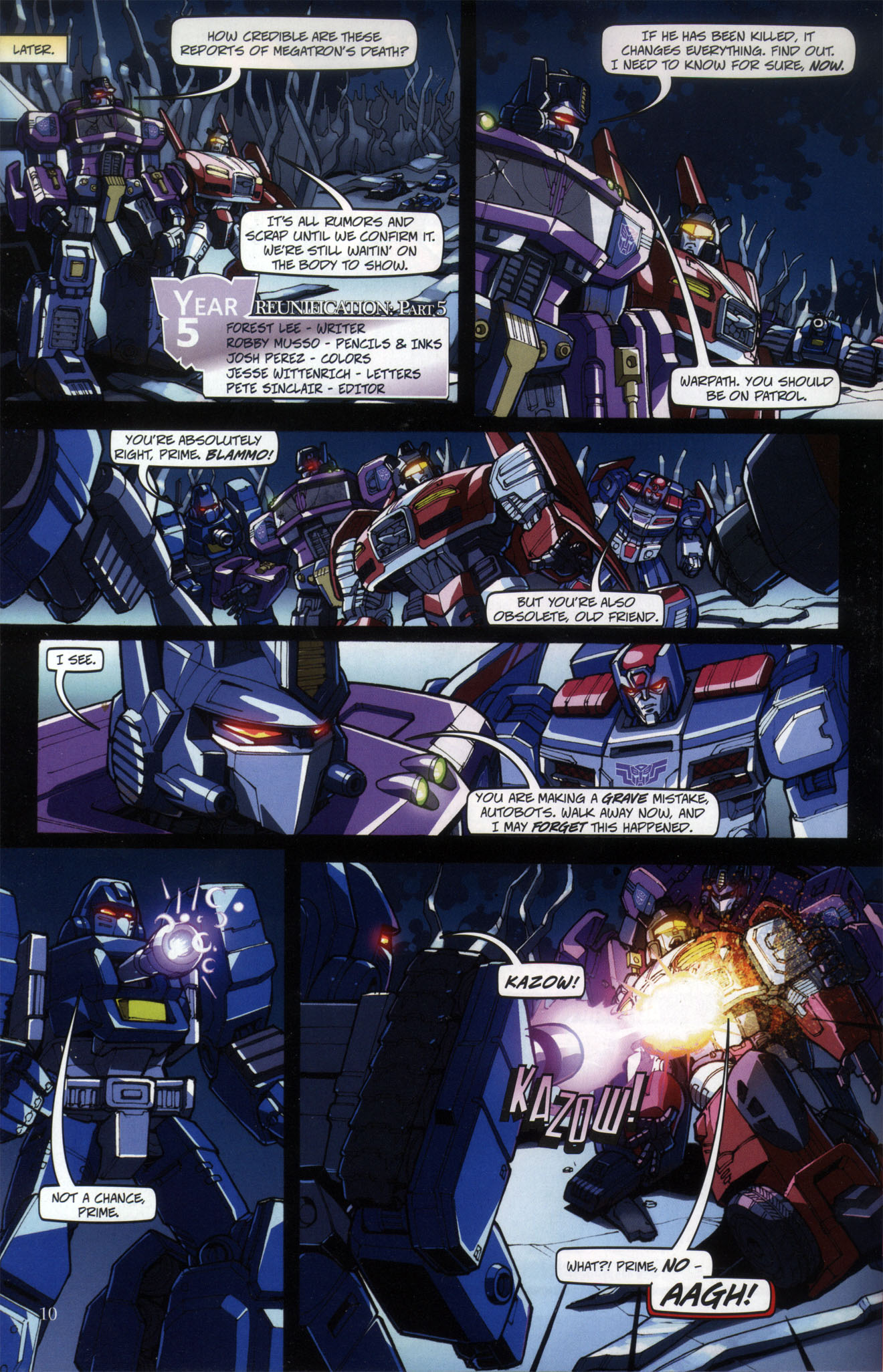 Read online Transformers: Collectors' Club comic -  Issue #29 - 10