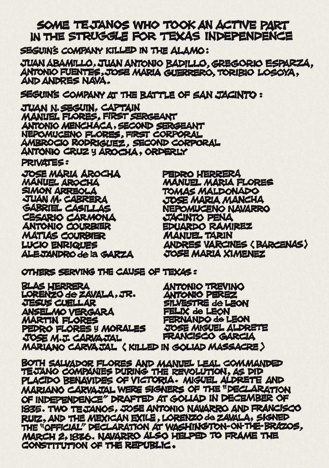 Recuerden el Alamo issue Full - Page 43