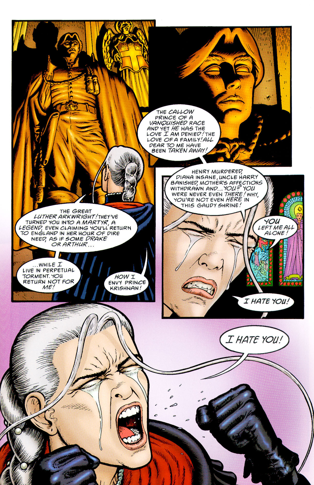 Read online Heart of Empire comic -  Issue #3 - 31