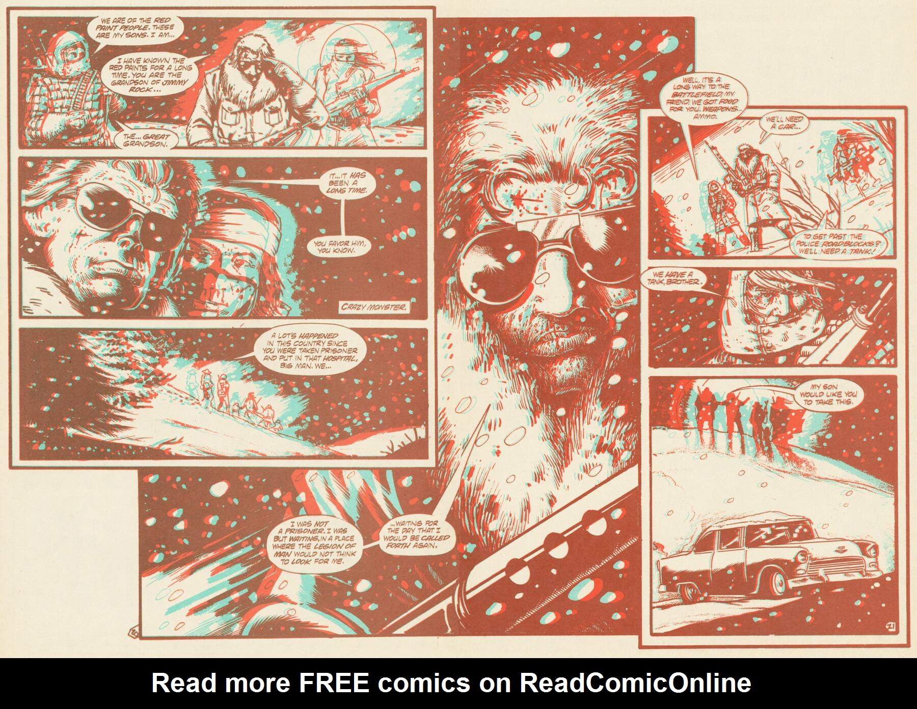 Read online Scout comic -  Issue #16 - 20