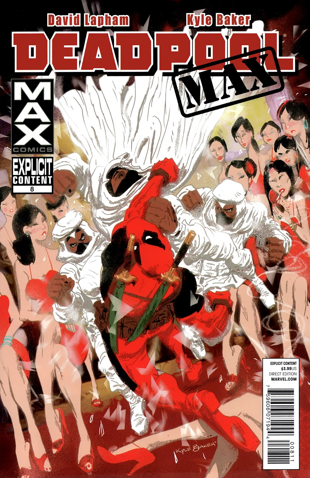 Deadpool MAX issue 8 - Page 1