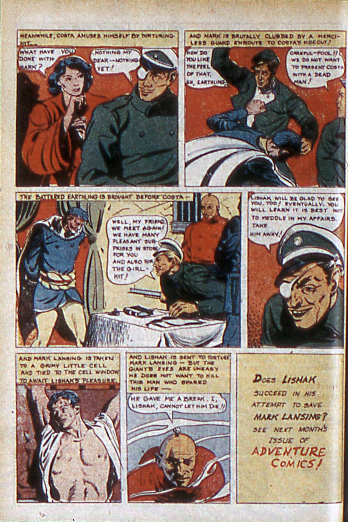 Read online Adventure Comics (1938) comic -  Issue #60 - 27