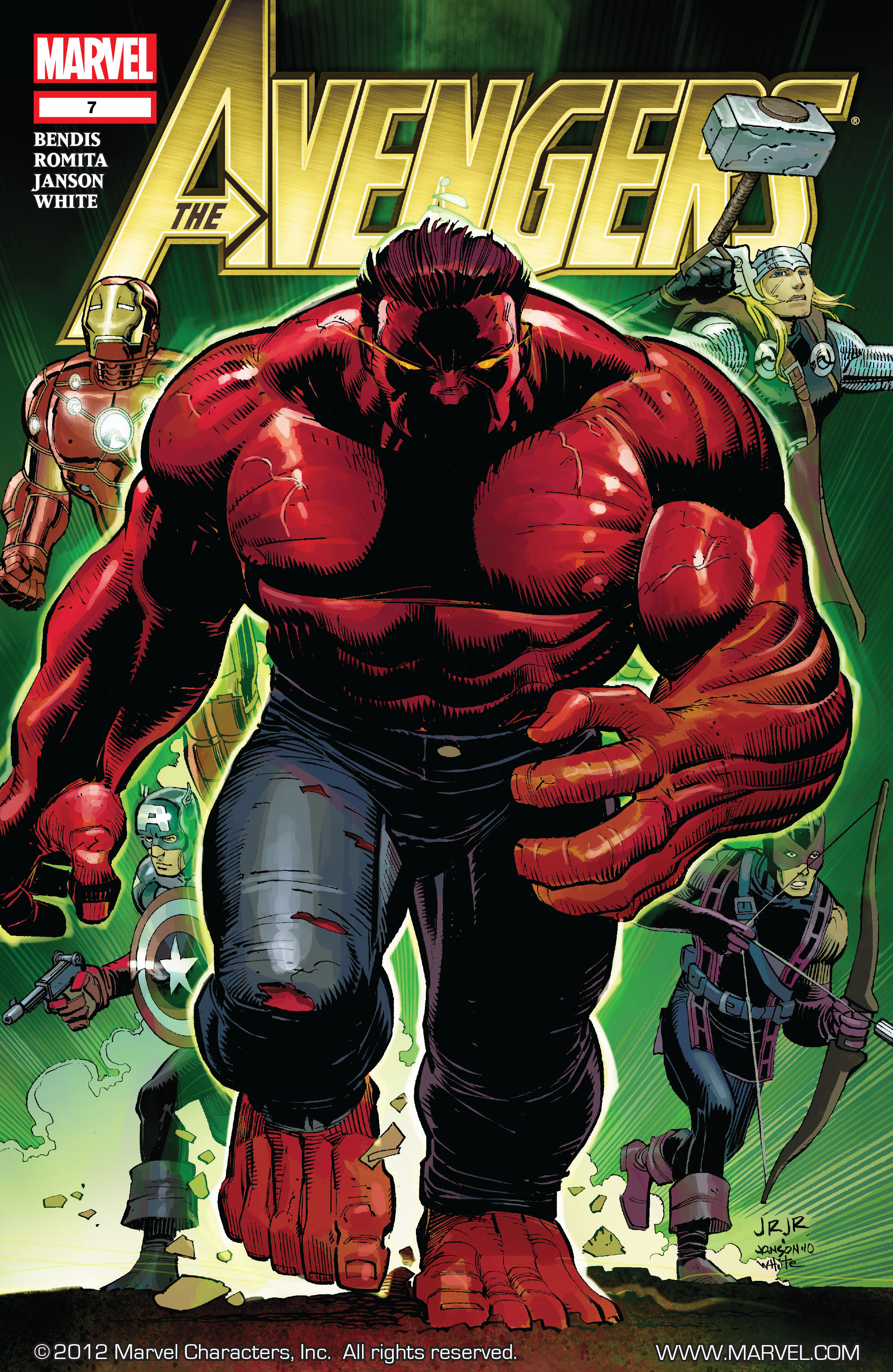 Read online Avengers (2010) comic -  Issue #7 - 1