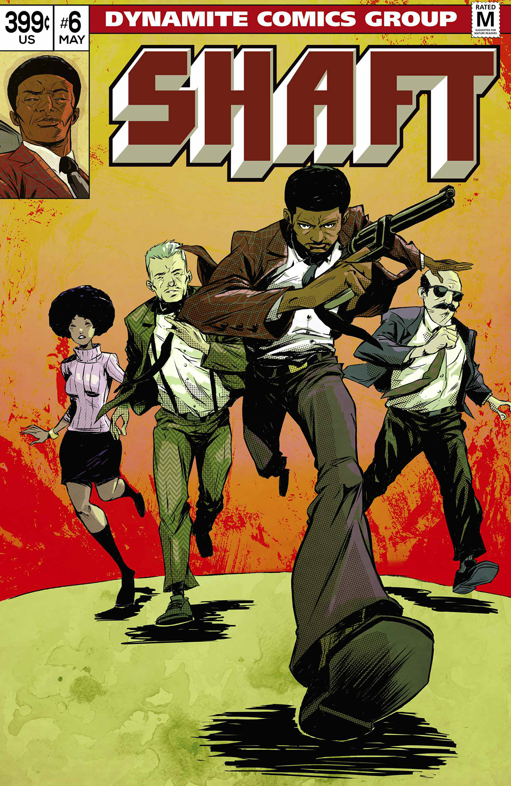Read online Shaft comic -  Issue #6 - 3