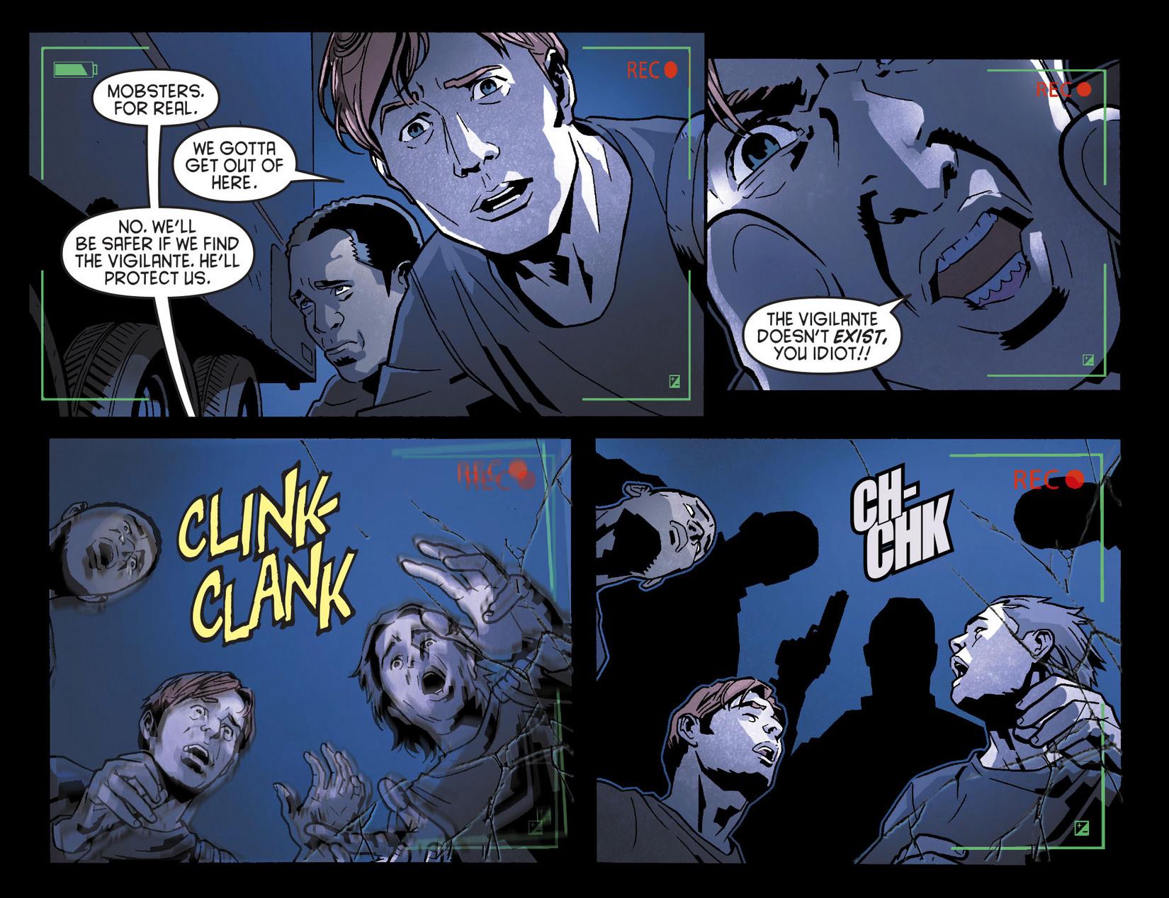 Read online Arrow [II] comic -  Issue #8 - 10