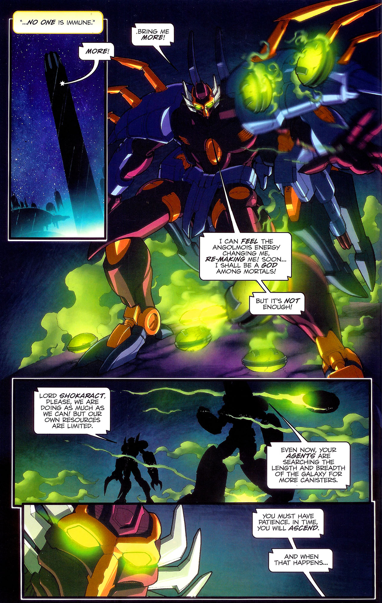 Read online Transformers: Beast Wars: The Ascending comic -  Issue #2 - 15