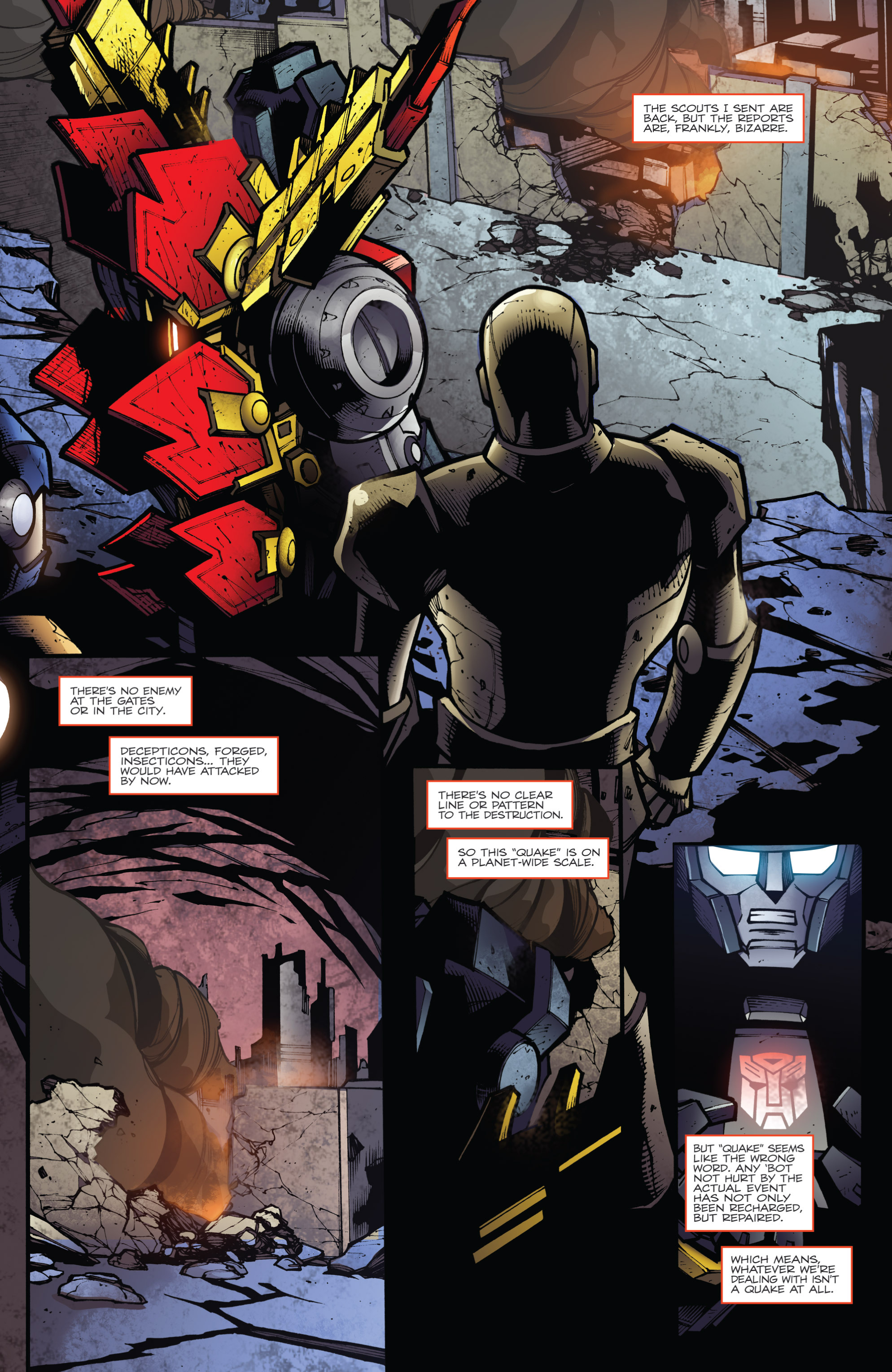 Read online Transformers Prime: Beast Hunters comic -  Issue #6 - 3