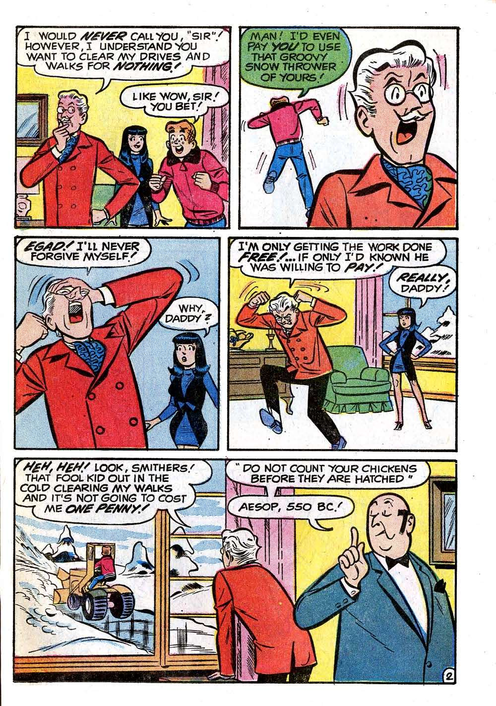 Read online Archie (1960) comic -  Issue #208 - 21