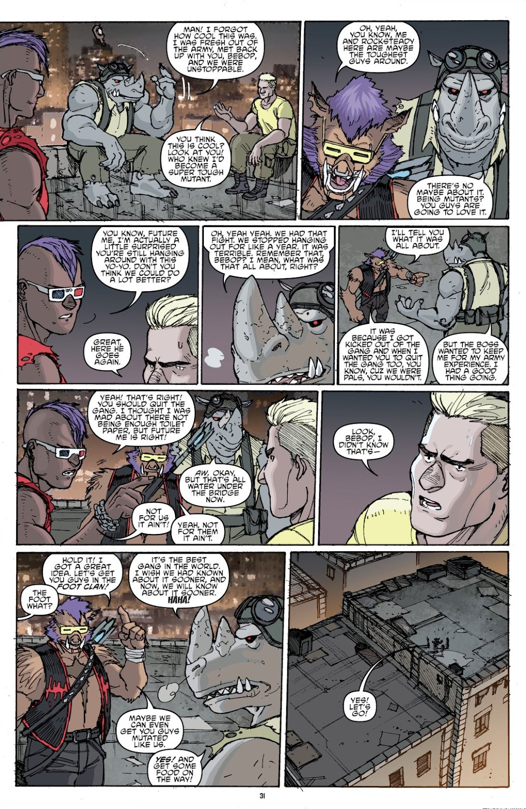 Read online Teenage Mutant Ninja Turtles: The IDW Collection comic -  Issue # TPB 8 (Part 1) - 31