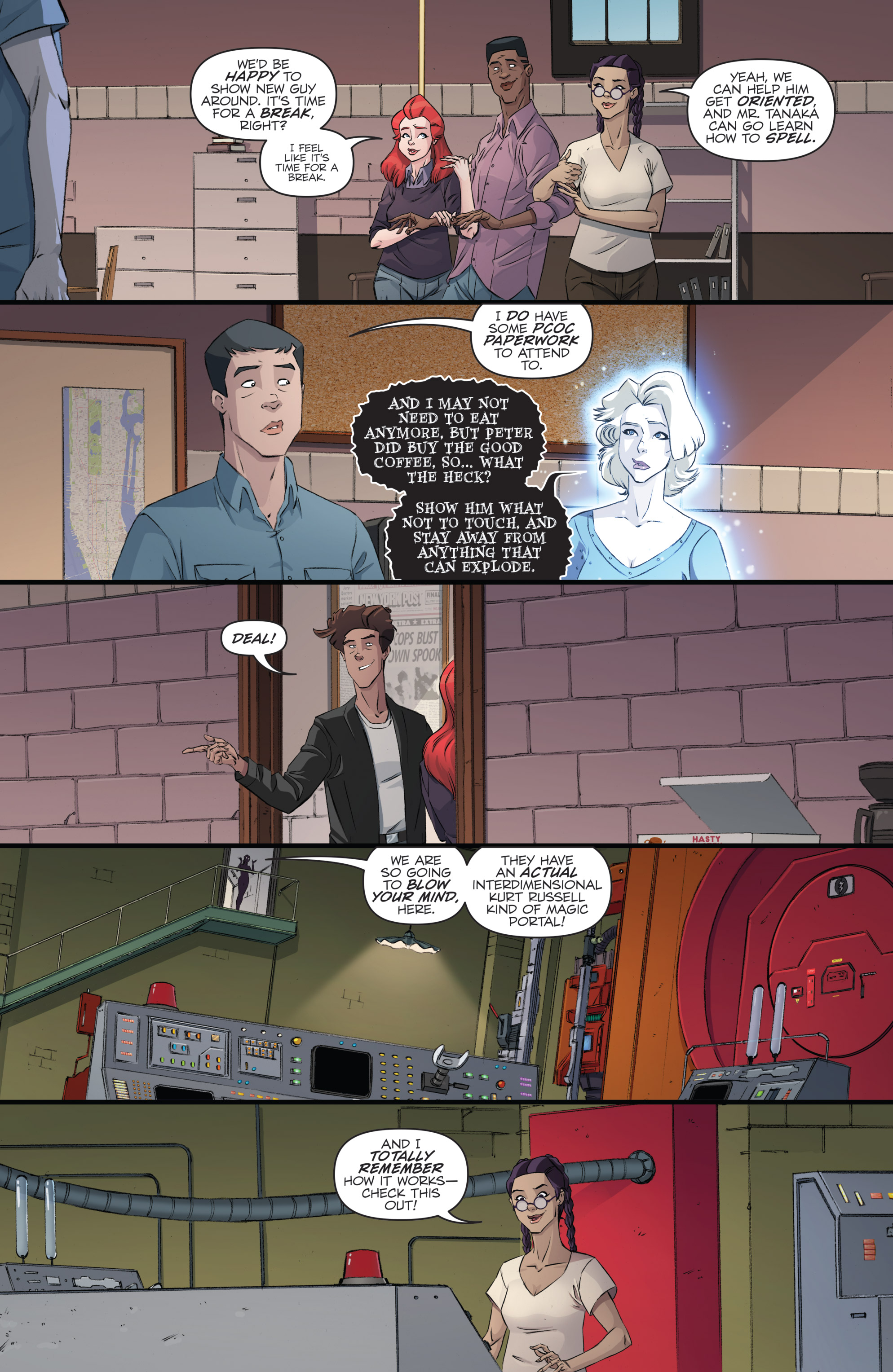 Read online Ghostbusters 101 comic -  Issue #2 - 19