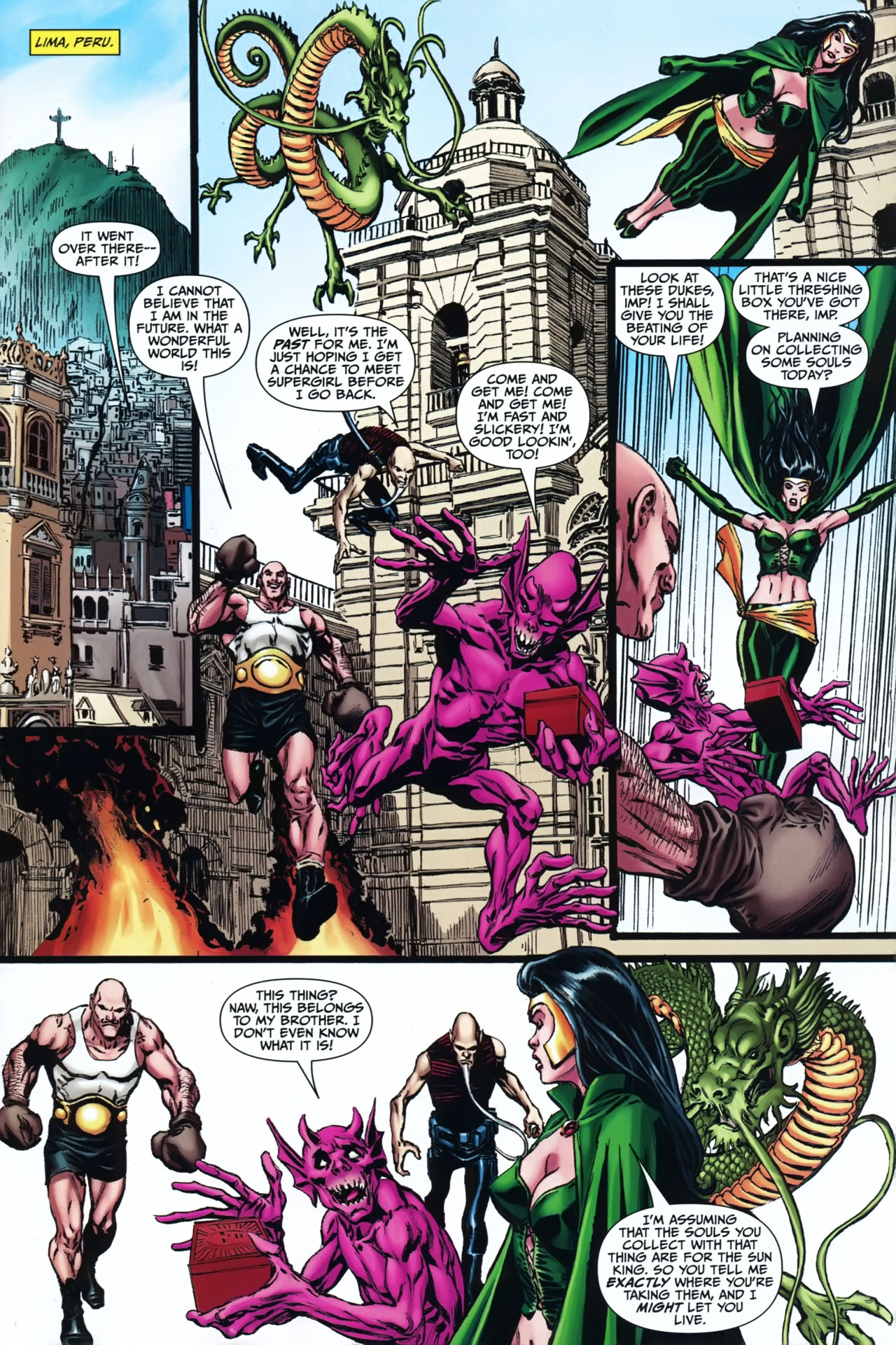 Read online Shadowpact comic -  Issue #24 - 6