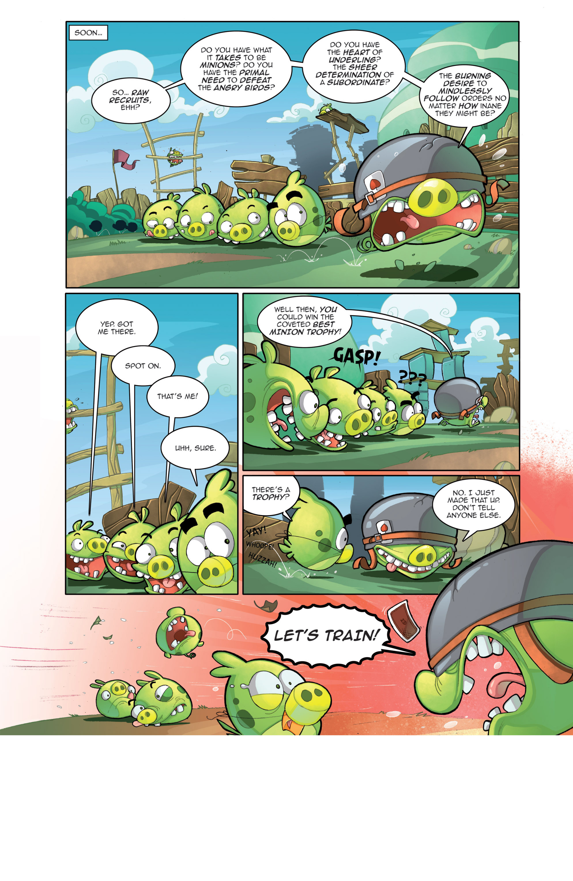 Read online Angry Birds Comics (2014) comic -  Issue #4 - 7