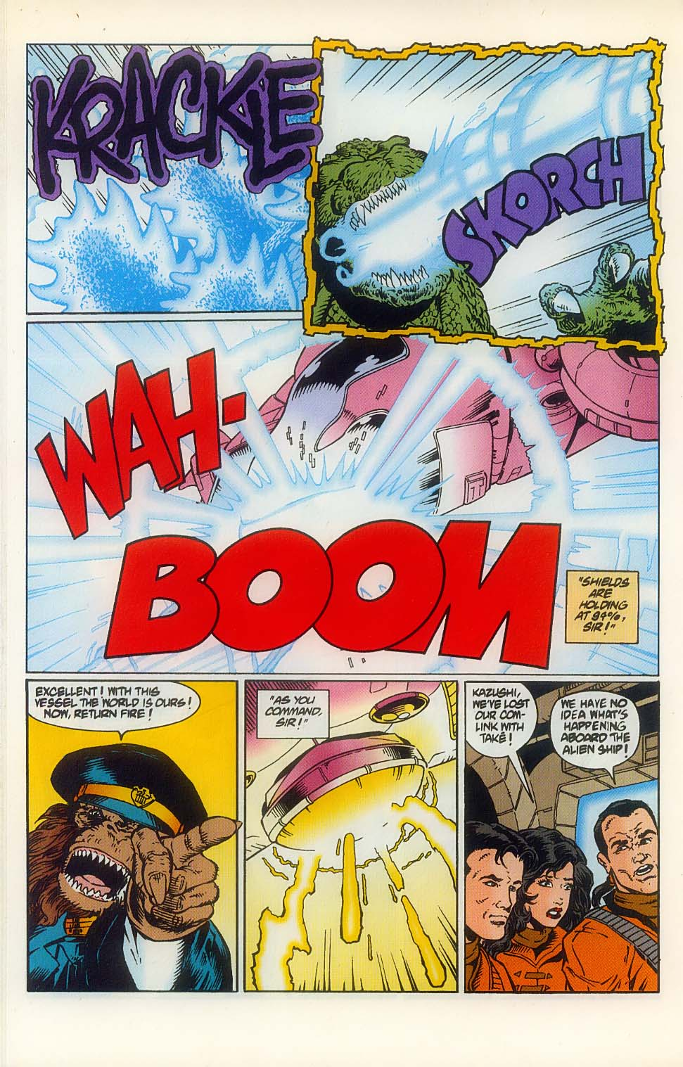 Godzilla (1995) Issue #8 #9 - English 22