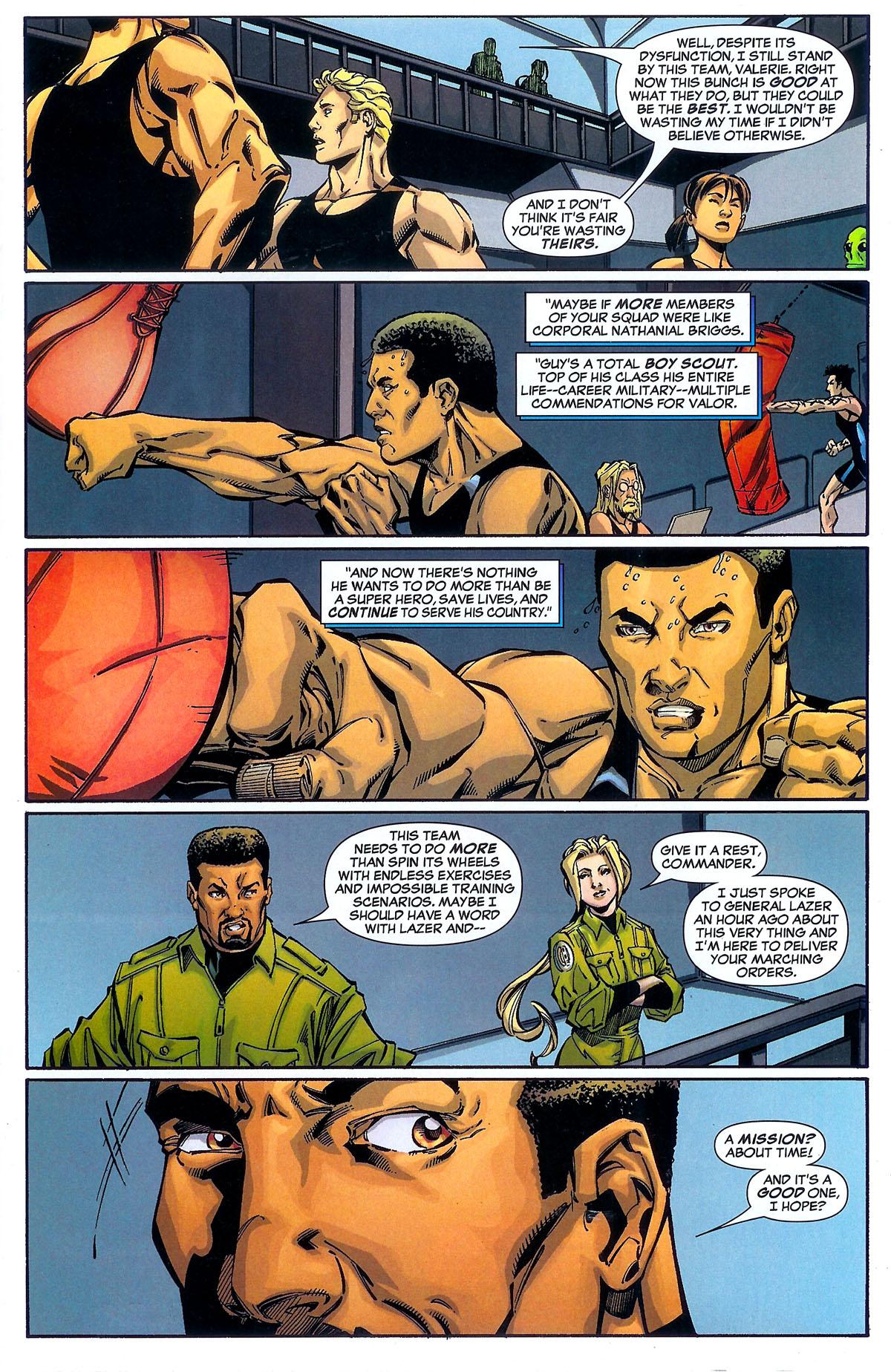 Read online Sentinel Squad O*N*E comic -  Issue #2 - 12