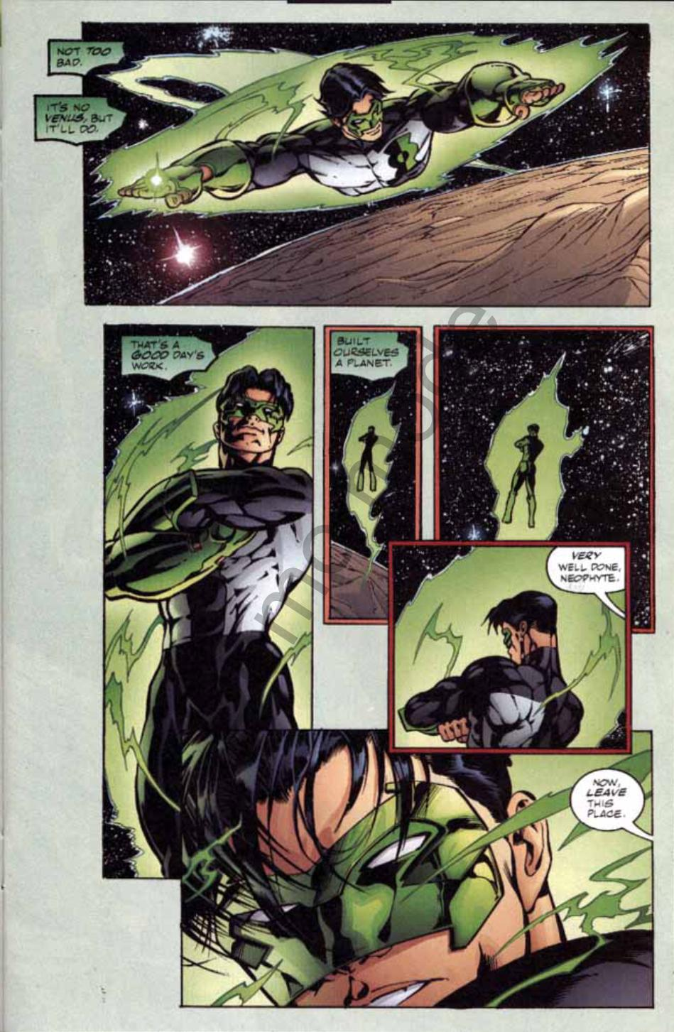 Read online Green Lantern: Our Worlds At War comic -  Issue # Full - 14