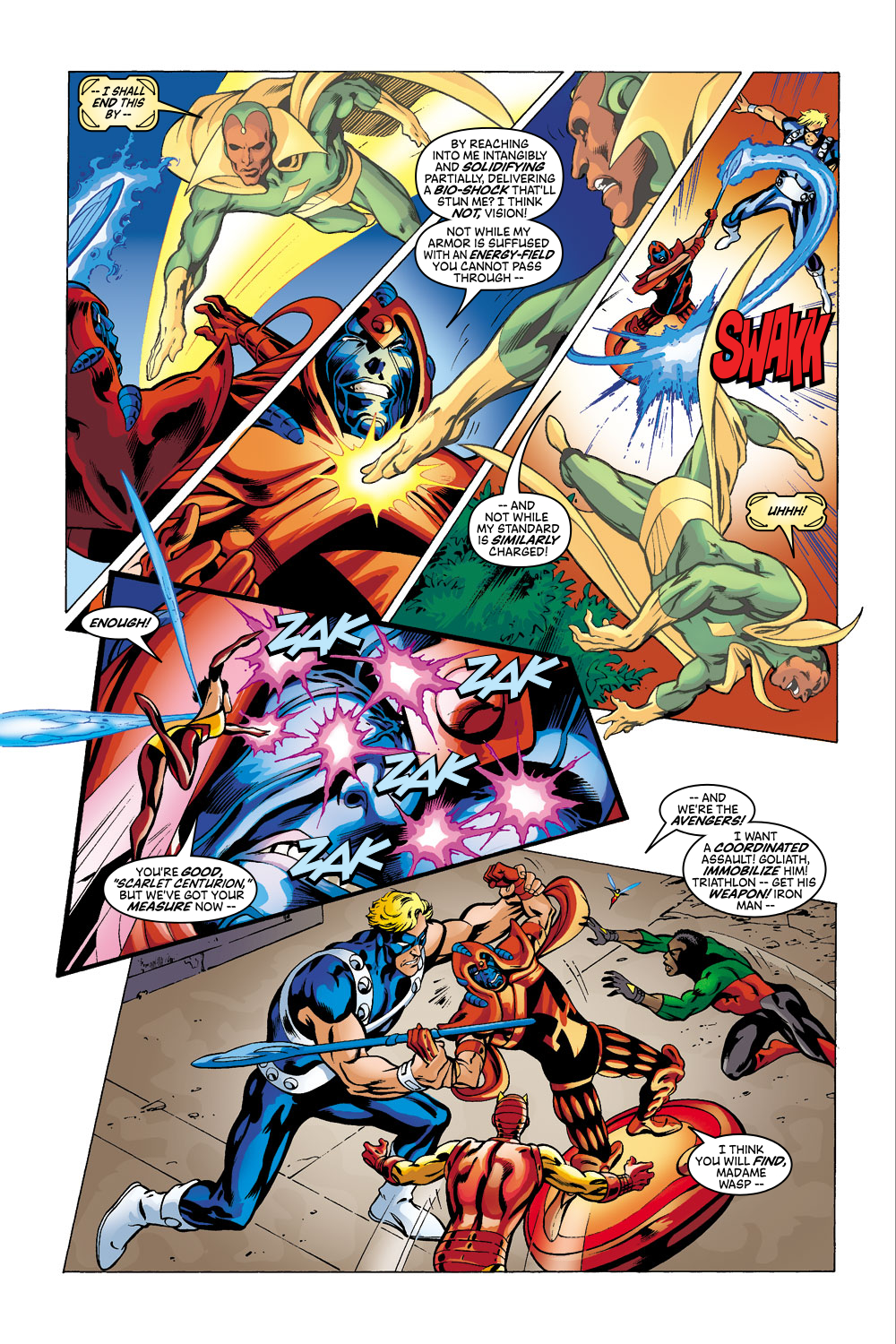 Read online Avengers (1998) comic -  Issue #41 - 15