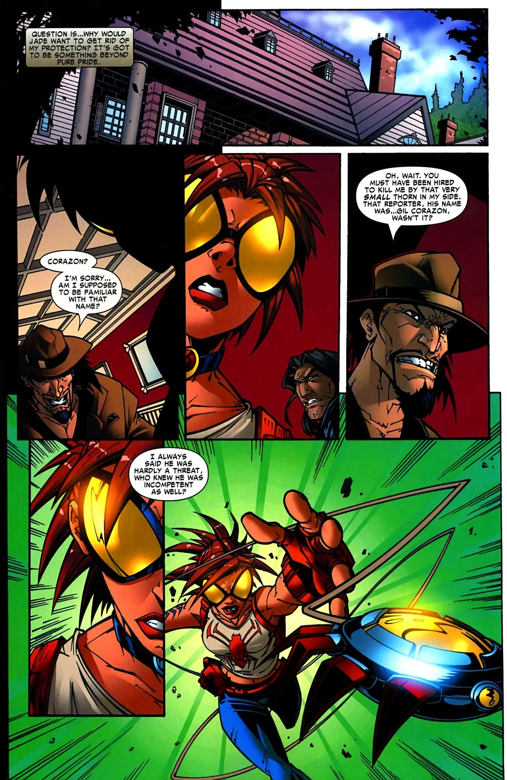 Read online Araña: Heart of the Spider comic -  Issue #11 - 7