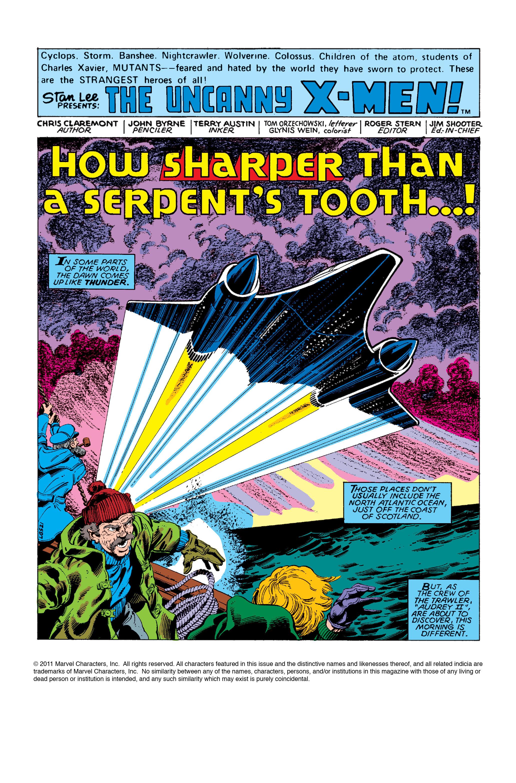 Read online Uncanny X-Men (1963) comic -  Issue #126 - 2