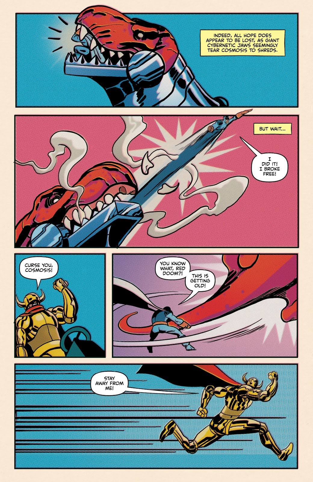 Read online Superb comic -  Issue #19 - 24