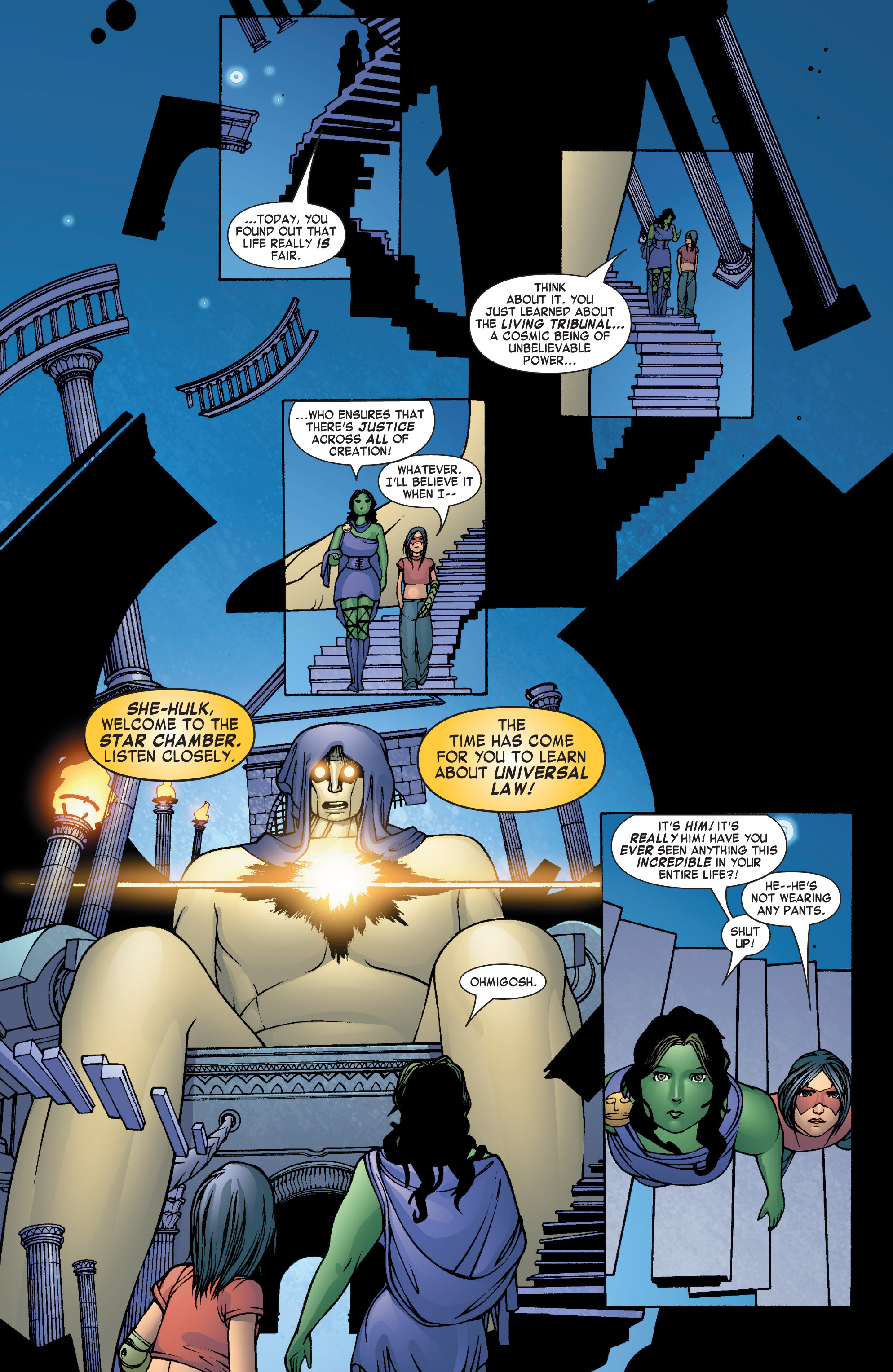 Read online She-Hulk (2004) comic -  Issue #7 - 13