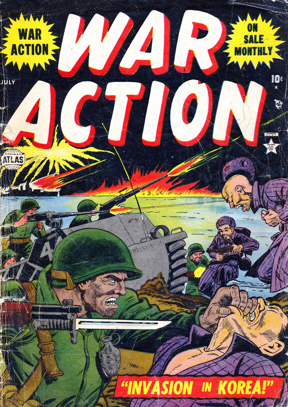 War Action issue 4 - Page 1